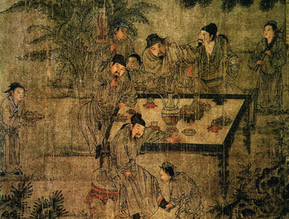 tea ceremony ancient