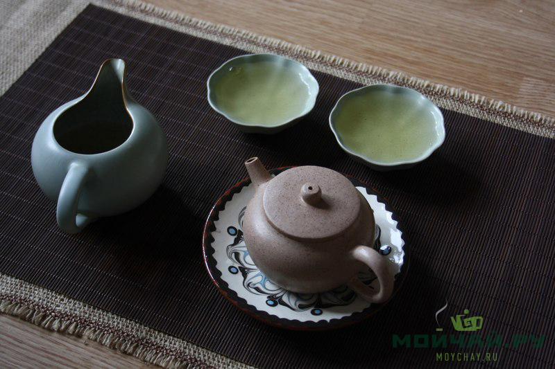 tea ceremony green tea Moychay