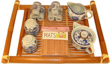 Tea set with tray porcelain