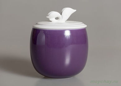 Tea caddy # 145 porcelain