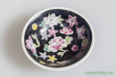 Antique cup # 884 hand-painted 20 ml
