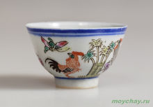 Antique cup # 890 hand-painted 40 ml