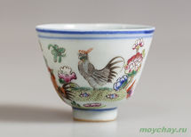 Antique cup # 892 hand-painted 70 ml