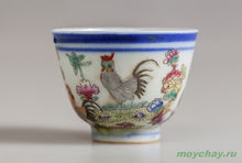 Antique cup # 894 hand-painted 65 ml