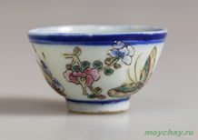 Antique cup # 900 hand-painted 40 ml