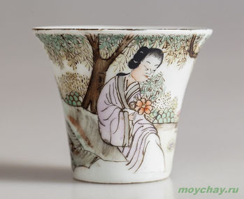 Antique cup # 904 hand-painted 70 ml