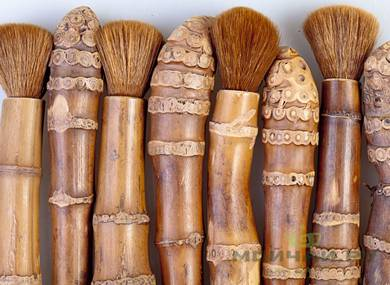 Brush bamboo root # 8667