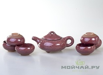 Tea ware set # 799 ice crack porcelain teapot 150 ml 6 cups 50 ml