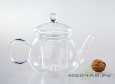 Tea kettle glass # 3257 700 ml