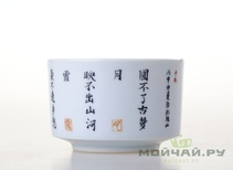 Cup # 3438 porcelain hand painting 100 ml