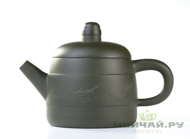 Teapot Yixing clay # 3707 175 ml