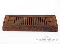 Tea tray # 447 wenge wood 14x27x25 cm