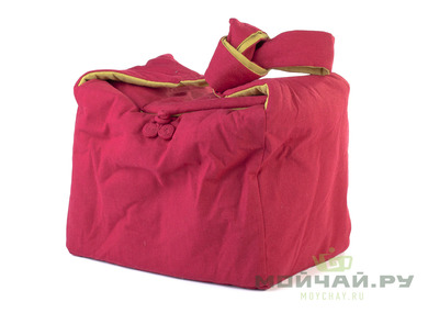 Textile bag for storage and transportation of teaware # 41