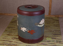 Tea caddy # 237 clay 38*50 cm