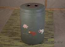 Tea caddy # 228 clay 37*60 cm