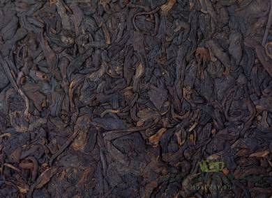"Lao Cha Shan Shu Puer  ""Old tea mountain"" MoyChayru raw material 2014 compressed 2017 357 g"