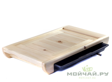 Handmade tea tray # 16595 wood