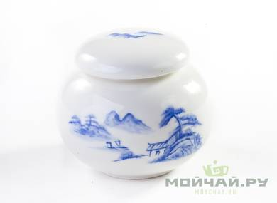 Tea caddy # 16798 porcelain 420 ml