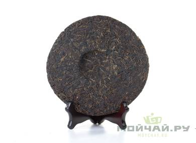 Exclusive Collection Tea Zhong Cha recipe 7542 «Yellow Seal» 2004 aged sheng puer 310 g