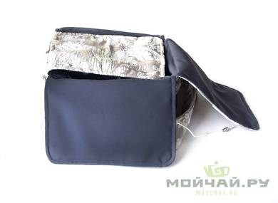 Textile bag for storage and transportation of teaware # 17600