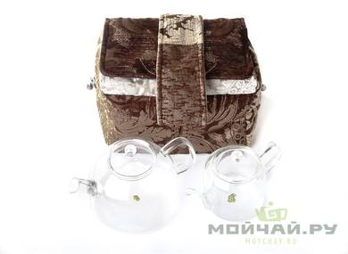 Textile bag for storage and transportation of teaware # 17601