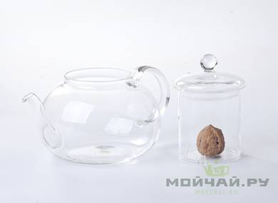 Teapot # 18385 glass 1000 ml
