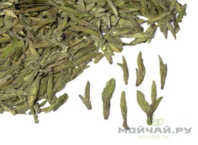 Green Tea Longjing Guizhou Gao Wei march 2018