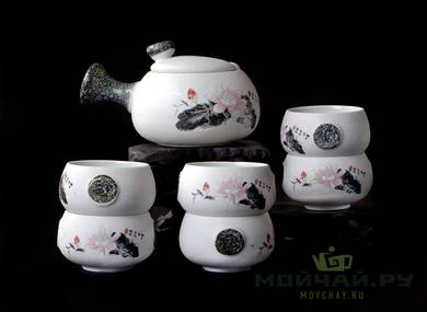 Tea ware set for a tea ceremony # 21288 teapot - 190 ml 6 cups of 50 ml