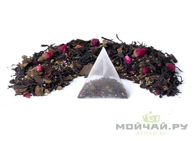 "Herbal mix ""Evening Garden"" pack of 10 pyramid tea bags 30 g"