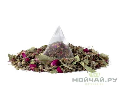 "Herbal mix ""Spring"" pack of 10 pyramid tea bags 25 g"