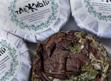 "Herbal tea Cake ""Taiga"" 50 g"