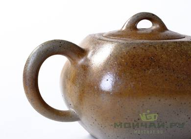 Teapot # 21655 yixing clay wood firing 176 ml