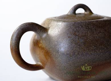 Teapot # 21640 yixing clay wood firing 176 ml