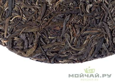 Sheng Puer from mount Bangdong Lincang harvest autumn 2016 pressed 2018 moychaycom 357 g
