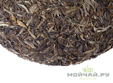 Bai Hao Sheng Puer  from Wuliangshan harvest 2016 pressed 2018 Moychaycom 357 g