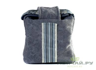 Textile bag for storage and transportation of teaware # 22405