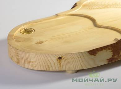 Handmade tea tray # 22826 wood Pine