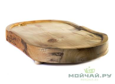 Handmade tea tray # 22834 wood Pine