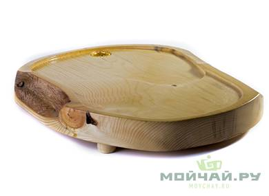 Handmade tea tray # 22829 wood Pine