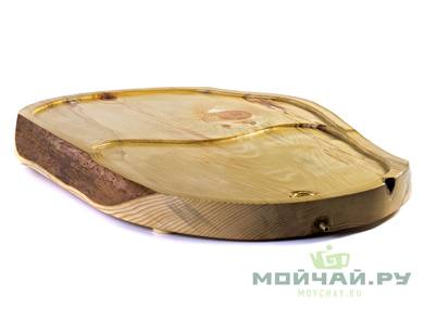 Handmade tea tray # 22824 wood Pine