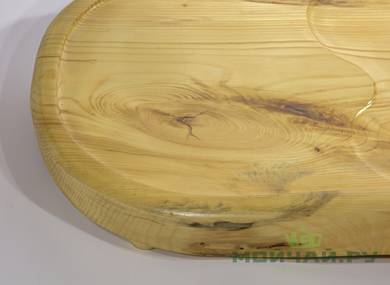 Handmade tea tray # 22825 wood Pine