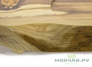 Handmade tea tray # 22836 wood Pine