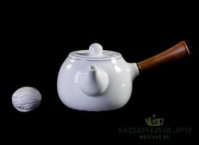 Set fot tea ceremony 9 items # 23323 porcelain : teapot 240 ml gundaobey 200 ml teamesh six cups 70 ml