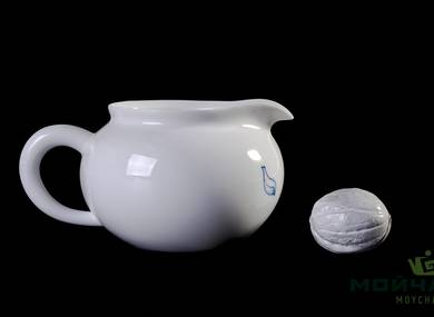Set fot tea ceremony 9 items # 23429 porcelain: teapot 220 ml gundaobey 240 ml teamesh six cups 70 ml
