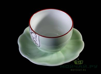 Cup with stand # 23436 porcelain 75 ml