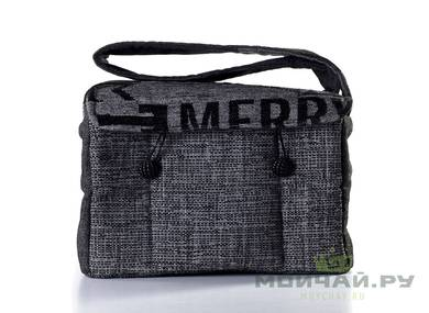 Textile bag for storage and transportation of teaware # 23442