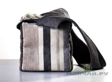 Textile bag for storage and transportation of teaware # 23444