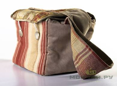 Textile bag for storage and transportation of teaware # 23449