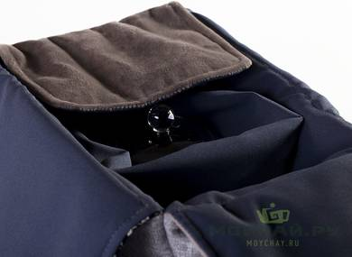 Textile bag for storage and transportation of teaware # 22441