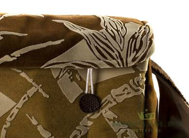 Textile bag for storage and transportation of teaware # 23451